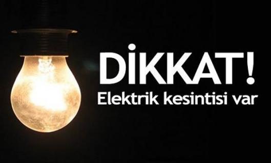 Beşikdüzü'nde elektrik kesintisi yaşanacak
