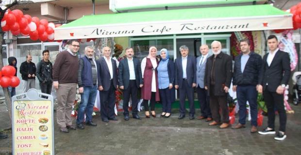 Dünya Kadın Hakları Gününde İşyeri Sahibi Oldular 'Nirvana Köfte-Balık ve Restaurant Çarşıbaşı'nda açıldı'
