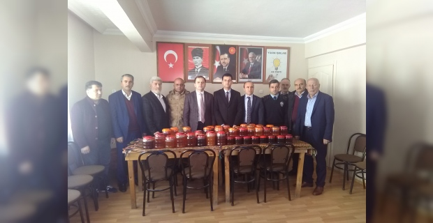 Afrin'deki vatan evlatlarına Ağasar Balı kampanyası amacına ulaştı