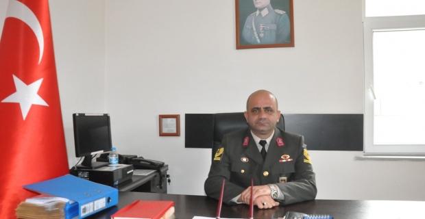 Şalpazarı'nın yeni jandarma komutanı Serdar Ceylan, görevine başladı