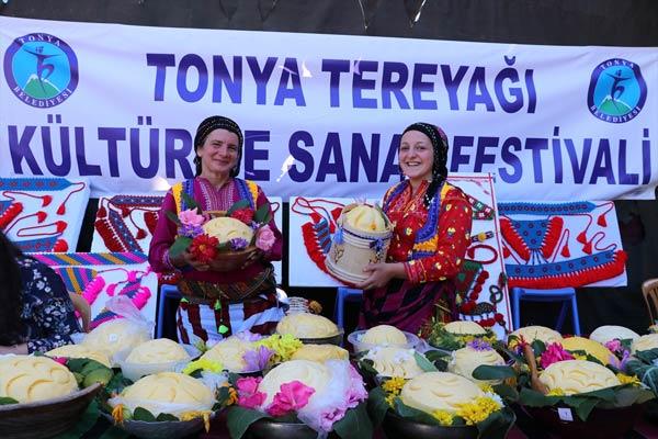 17. Tonya Tereyağı Kültür ve Sanat Festivali yapıldı
