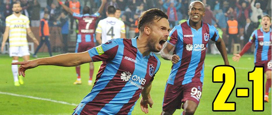 Trabzonspor Ezdi Geçti 2-1