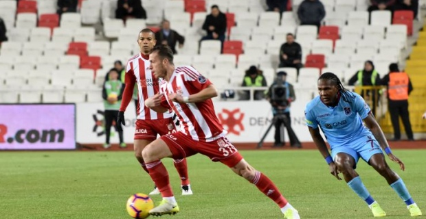 (ÖZET) Sivasspor - Trabzonspor maç sonucu: 1-1