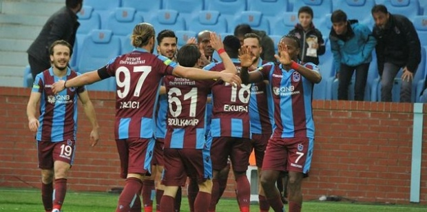 Trabzonspor, MKE Ankaragücü'nü tek golle geçti