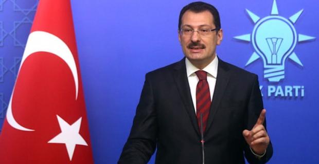 Son dakika: Ali İhsan Yavuz'dan YSK kararına ilişkin açıklama