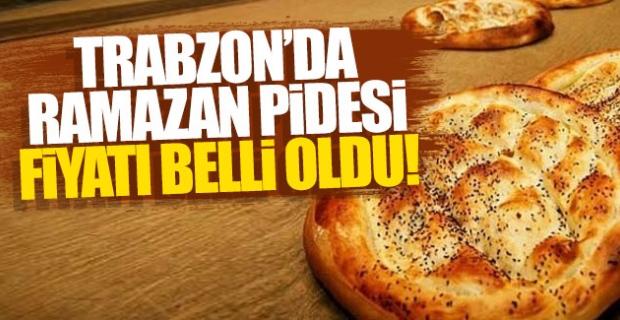 Trabzon Fırıncılar Odası Trabzon'da Ramazan pidesi fiyatlarını açıkladı