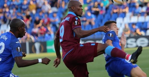 Getafe-Trabzonspor maç sonucu: 1-0