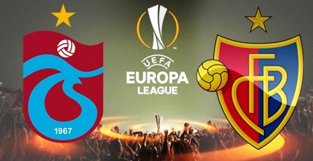 Trabzonspor - Basel maç sonucu: 2-2