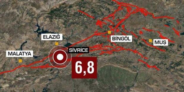 Elazığ'daki depremde son durum: 39 kişi hayatını kaybetti, 1607 kişi yaralandı