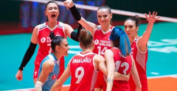 Türkiye 3 - 0 Almanya (Filenin Sultanları,2020 Tokyo Olimpiyat Oyunları'nda)