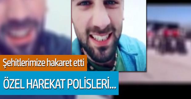 ŞEHİTLERİMİZE HAKARET EDEN PKK EVİNDEN ALINDI