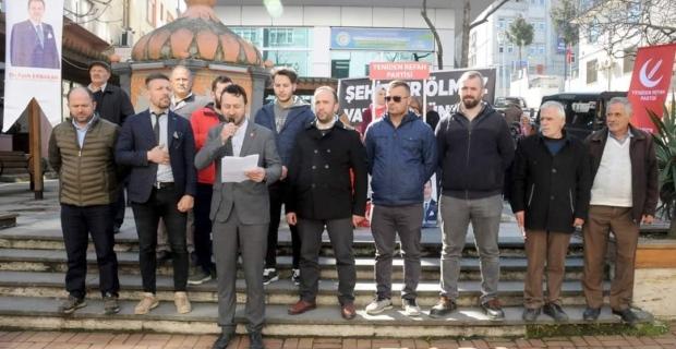 İdlib için Vakfıkebir refah partisinden açıklama geldi