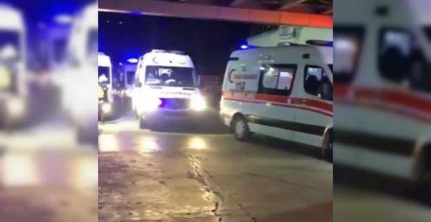 Trabzon'da Korkutan yoğunluk