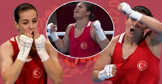 Buse Naz Çakıroğlu'ndan gümüş madalya! Kadınlar boksta tarih yazdılar...