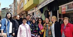 Başkan Şennaz Yılmaz Büyükliman'ı misafir etti