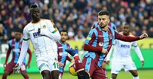 Trabzonspor - Aytemiz Alanyaspor maç sonucu: 0-2