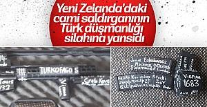 Camiye saldıran teröristin Türk düşmanlığı