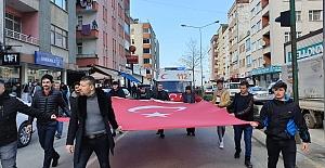 GAZİMİZ EMRE ÇALIK ÖZ VATANI VAKFIKEBİR'E GELDİ.