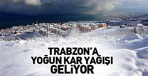 bTRABZONDA KAR ALARIMI VERİLDİ/b