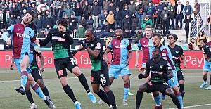 Trabzonspor penaltılarda turladı.