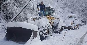 Büyükliman Bölgesinde kar sonu ulaşım sorunu çözülemeyen mahalleler