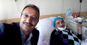 Beşikdüz'lü Gazeteci Yazar Mithat Güdünün Baba acısı
