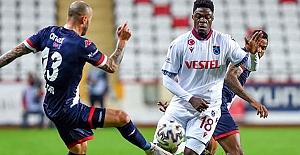 Antalyaspor - Trabzonspor maç sonucu: 1-1