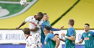 Karadeniz derbisinde gol sesi çıkmadı 0-0