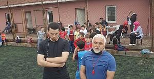 Vakfıkebir de yaz futbol Kursu başladı.