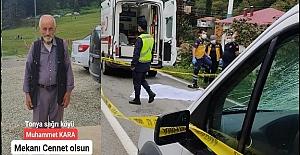 Vakfıkebir Tonya yolunda trafik kazası 1 ölü