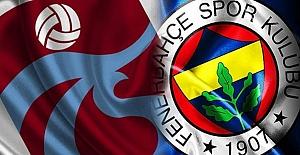 Maç sonucu: Fenerbahçe 1-1 Trabzonspor| MAÇ ÖZETİ