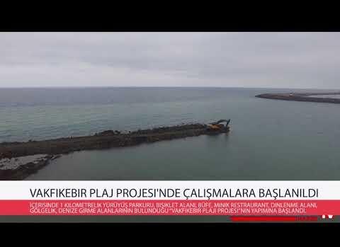 Vakfıkebir Plaj Projesi'nde çalışmalara başlanıldı