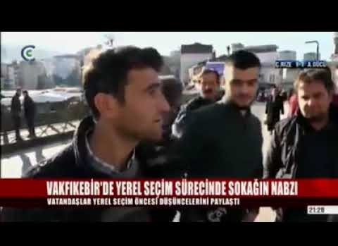 VAKFIKEBİRDE 31 MART BELEDİYE SEÇİMLERİ ÖNCESİ BAKIN HALK NE DİYOR..
