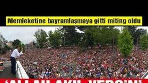 Ekrem İmamoğlu Trabzon da
