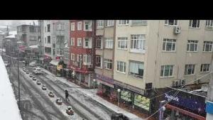 TRABZON Vakfıkebir'de kar yağışı görüntüleri CANLI TIKLA İZLE